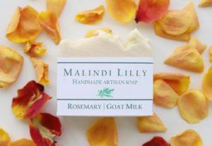 Display Rosemary Goat's Milk Artisan Soap